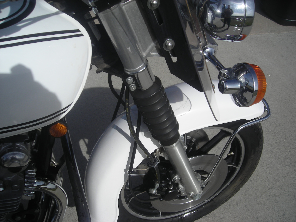 1978 Kz1000 Police Bike With Only 2000 Miles Kzrider Forum