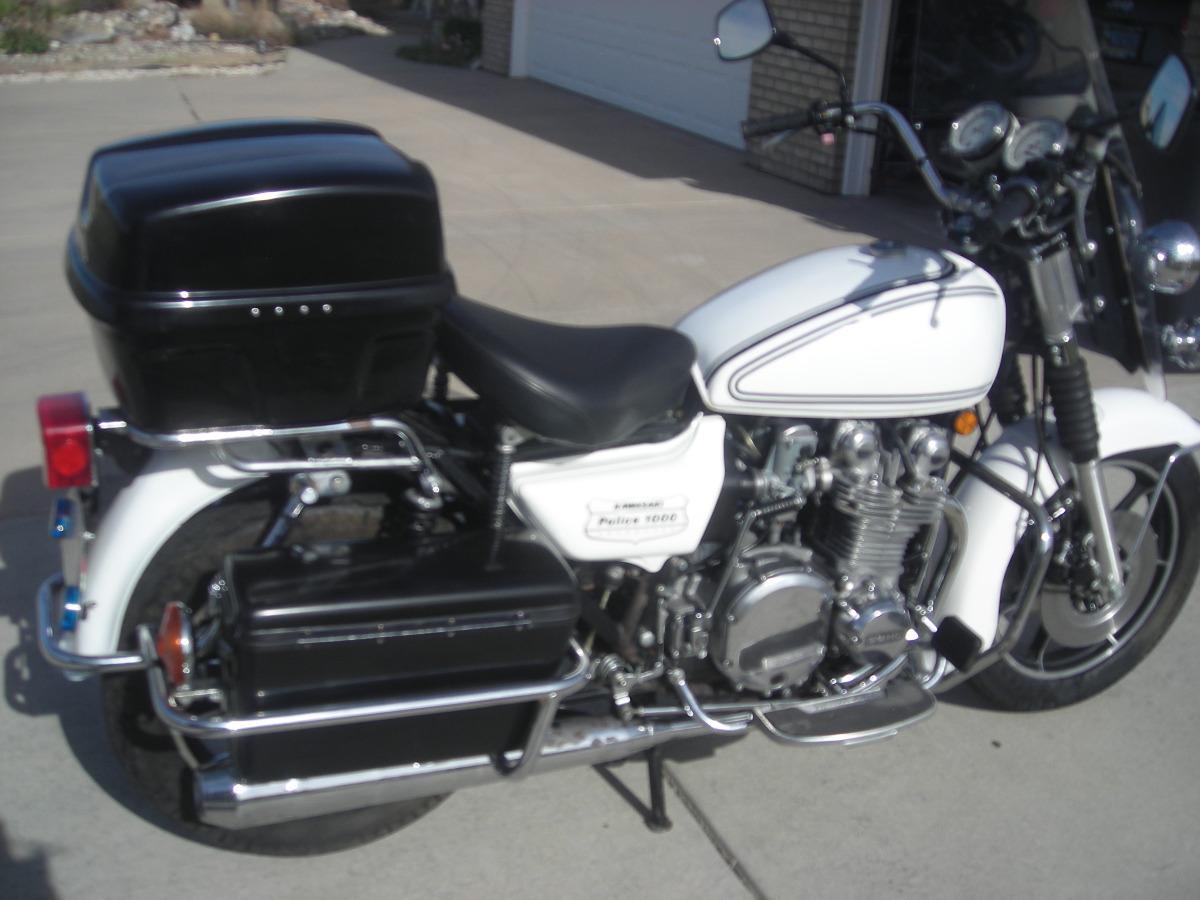 1978 KZ1000 police bike with only 2000 miles - KZRider Forum