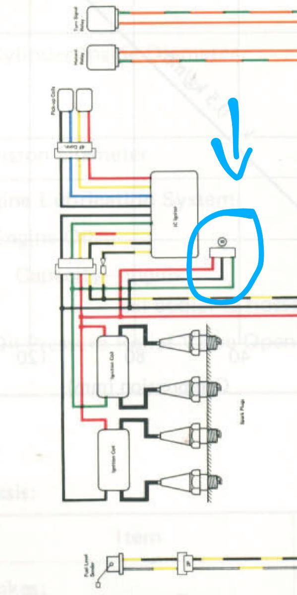 kawasaki kz1100 wiring diagram shaft  wiring diagram cycle