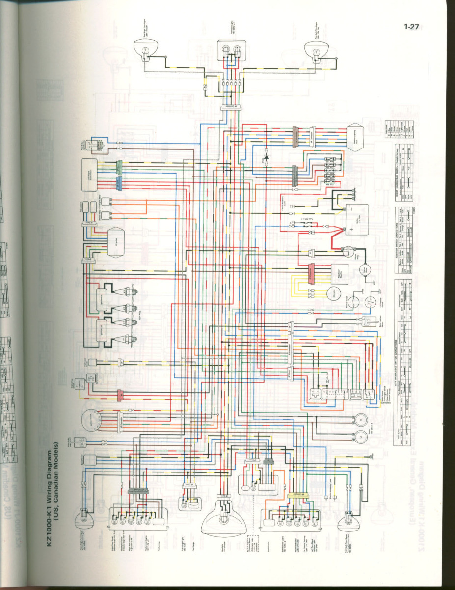 81 Kz1000 K1 Ltd Clear Wiring Diagram Kzrider Forum Kzrider Kz Z1 Z Motorcycle Enthusiast S Forum