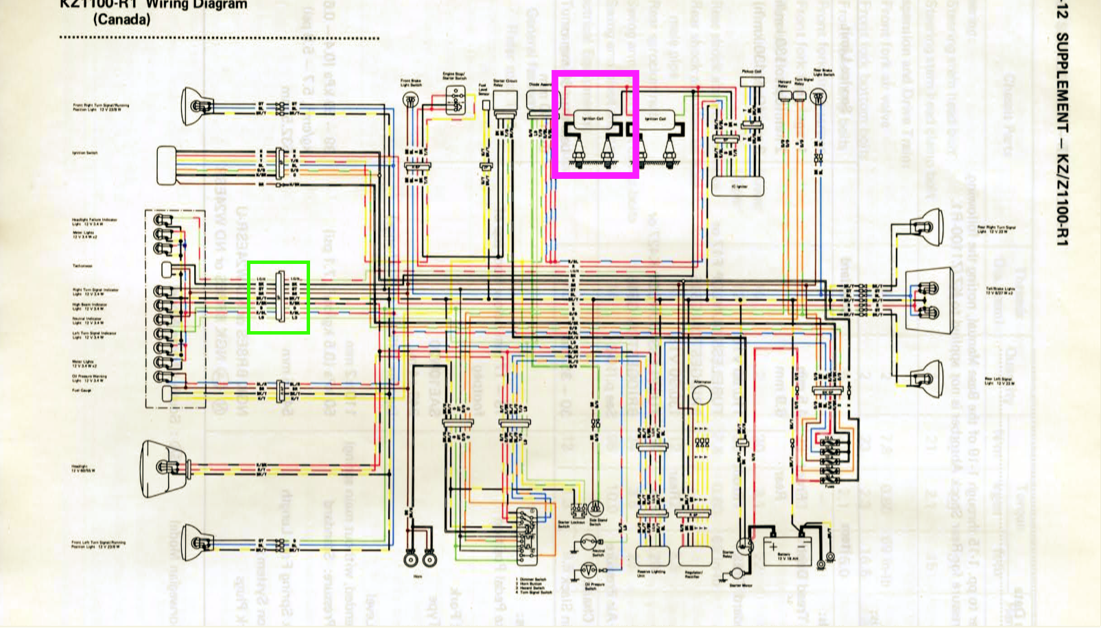 1983 kz1100 shaft erratic tach and non-op voltmeter. - page 2 - kzrider  forum - kzrider, kz, z1 & z motorcycle enthusiast's forum  kzrider