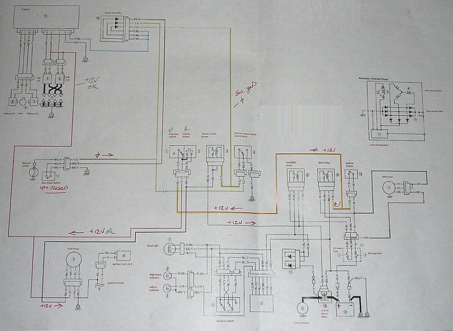 Kawasaki Voyager Xii Wiring Diagram | Wiring Diagram on