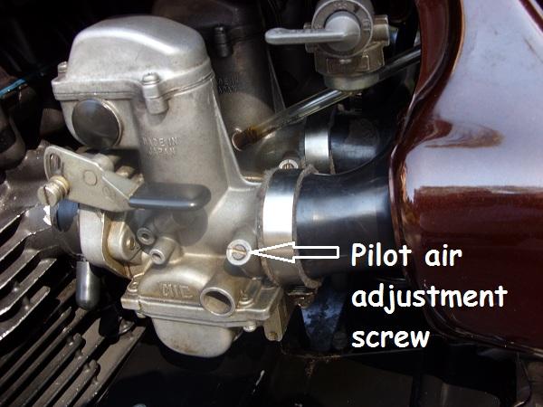 Idle Screw Adjustment Motorcycle
