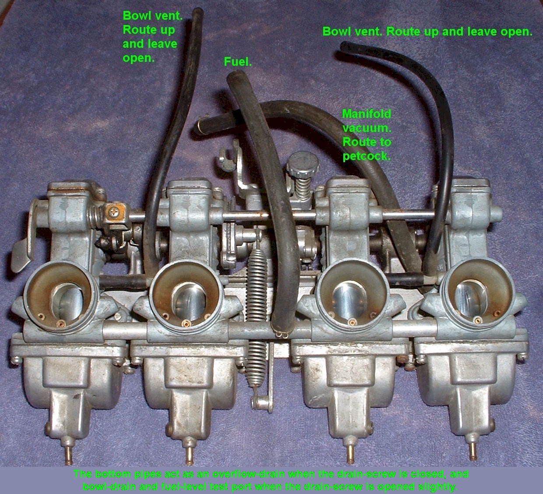 Pod installation on a 79 KZ650 C3/w air injection - KZRider Forum
