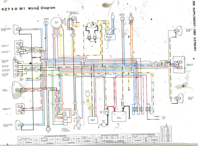 77 Kz1000 Stator Wiring Diagram