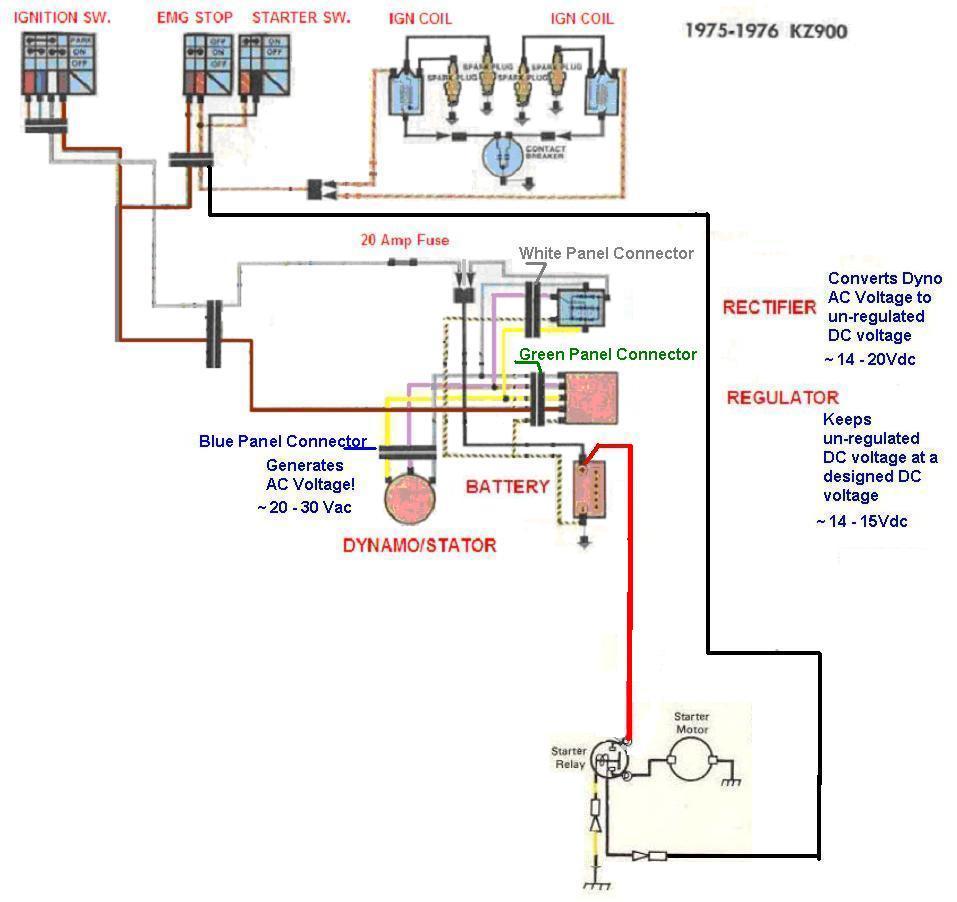 my kz1000 wiring situation kzrider forum kzrider, kz, z1 \u0026 z Zx10 Wiring Diagram