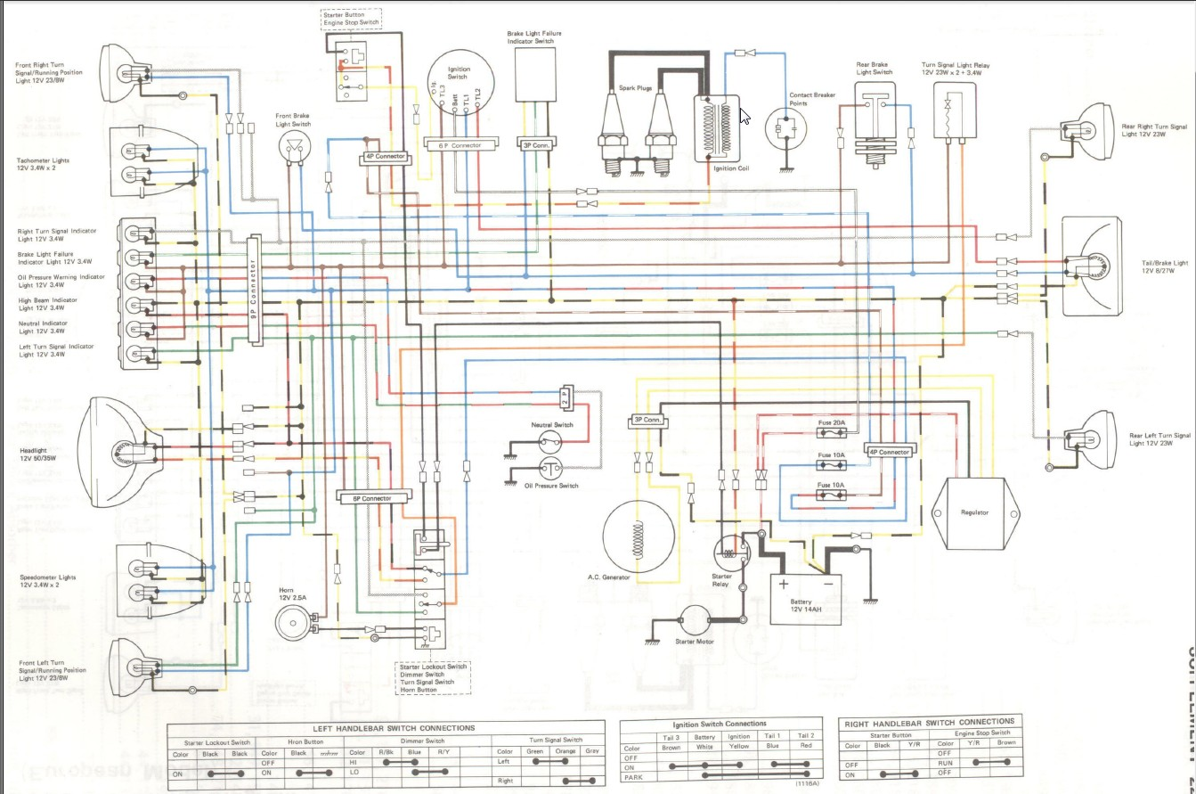 Kz750 80 Wiring Diagram - Wiring Diagrams Lol on