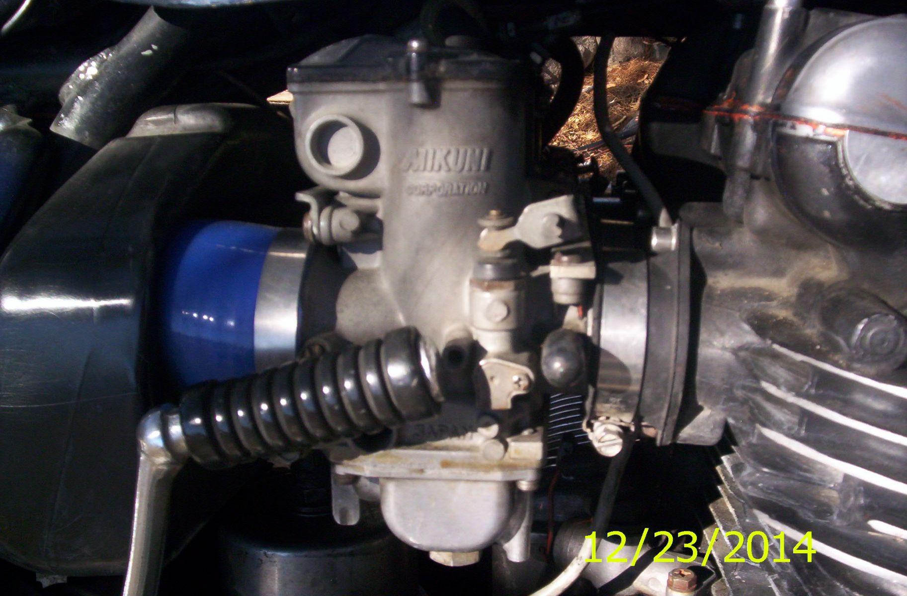 Airbox boot repair? - KZRider Forum - KZRider, KZ, Z1 & Z Motorcycle
