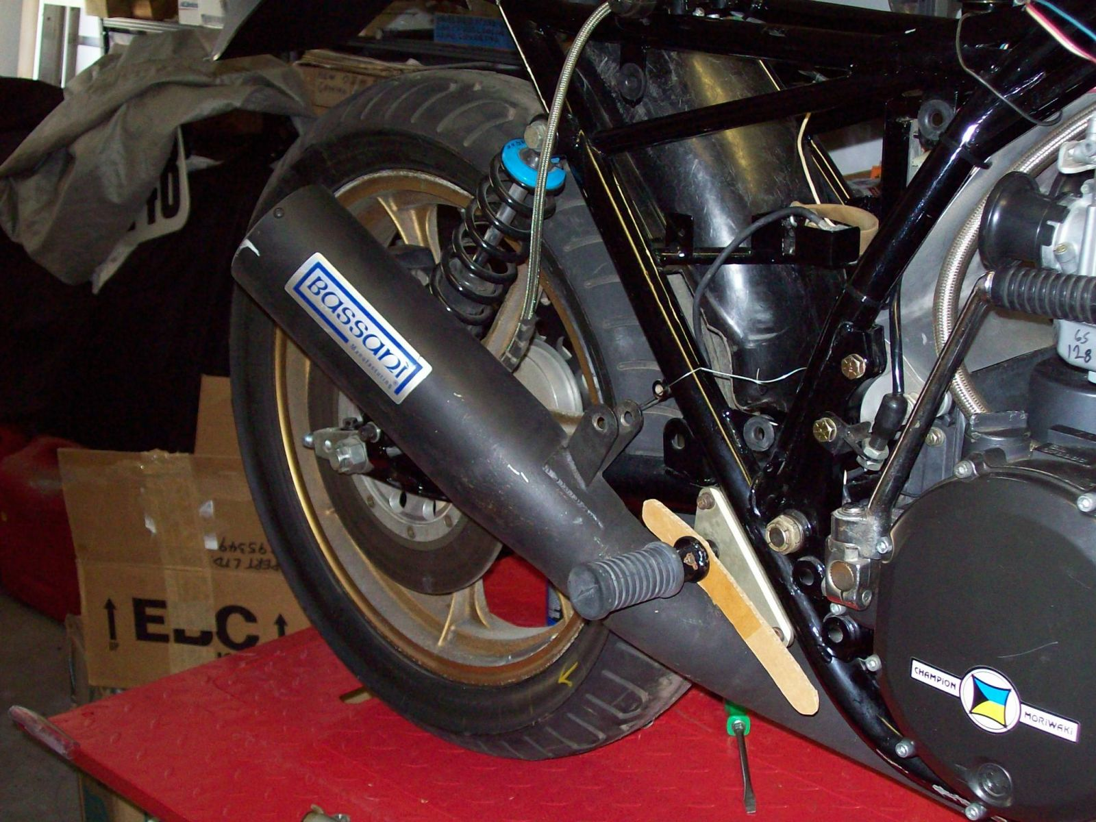Better Than Nothing---the Rebirth Of A Superbike