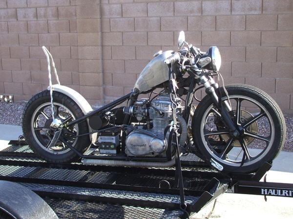 1981 KZ440 LTD CHOPPER BOBBER