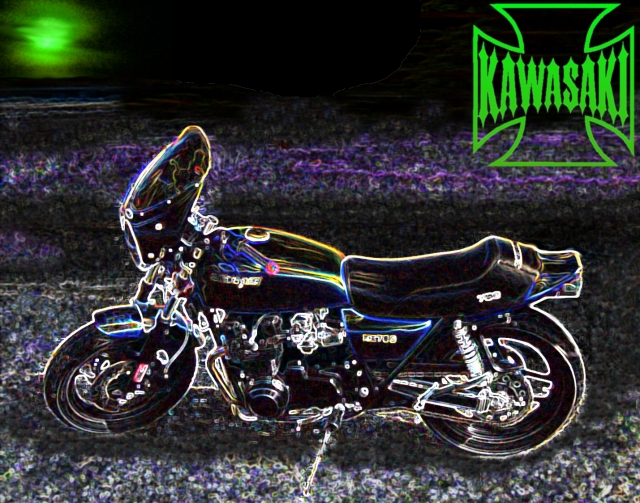 Kawasaki dream in color