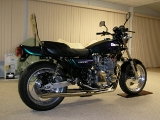 KZ1000 77 Up date exhaust finish right side