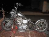 1981 KZ1000 POLICE CHOPPER BOBBER