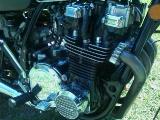 Engine after restoration (other side) - KZ1000G