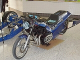 ZX-1100 drag bike