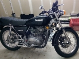 Black and Silver KZ400