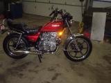 MY RESTORED 1980 KZ440LTD..