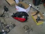 81 KZ550 bobber project parts