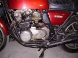 My Bike when i brought her (now is on restauration progress)