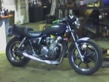 81 KZ550LTD  up&running rt. side