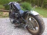 My 1980 KZ 650 Hardtail bobber_2