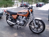 My KZ650, newly rebuilt - March 2005