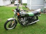 1979 KZ 650 - Prework: Left side