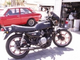 KZ750 L3 has been modified