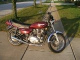 Better Pict of the '78 KZ 750 twin
