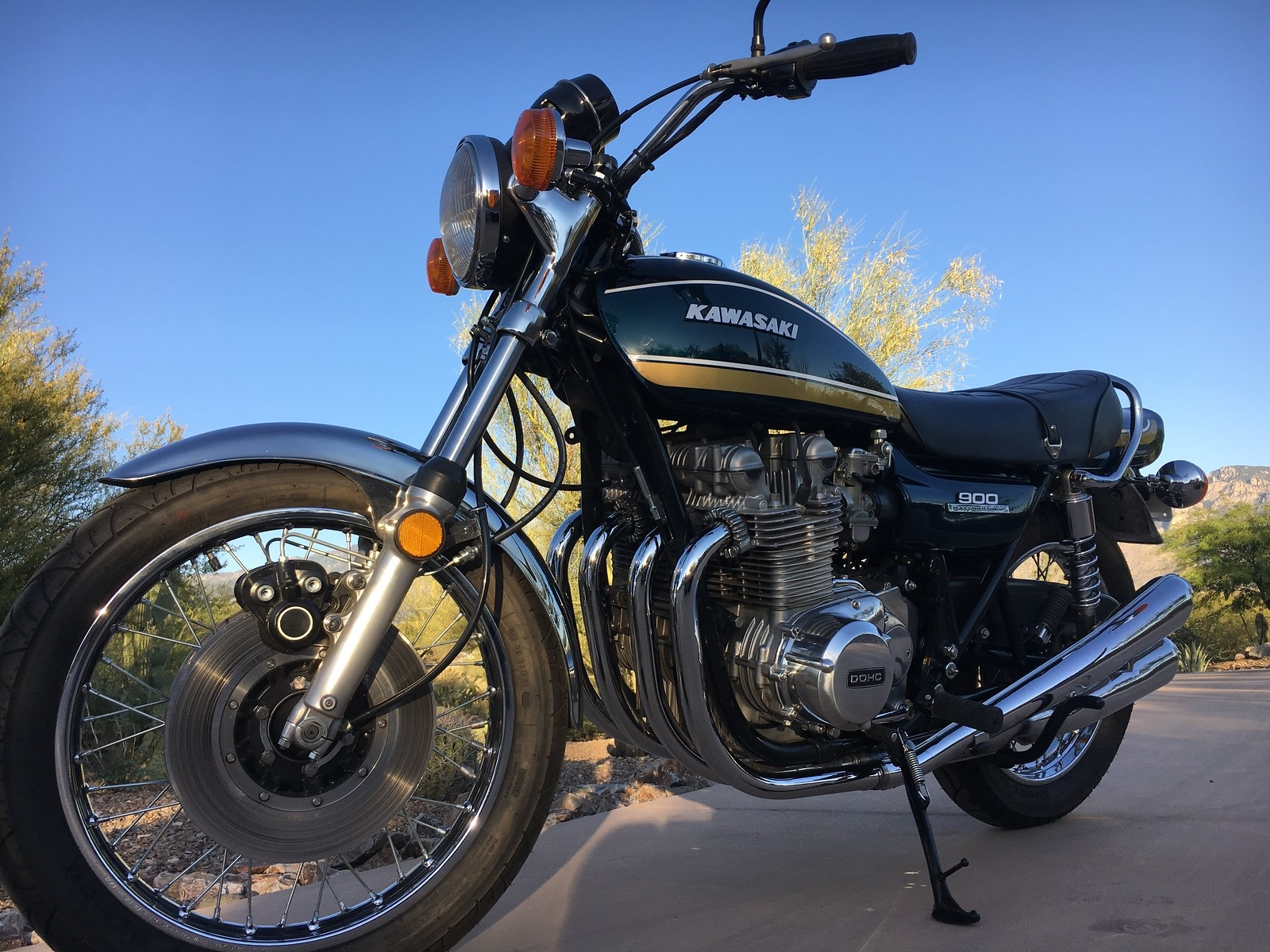 Bike Of The Month: Nils Menten's 1975  Z1-B 900