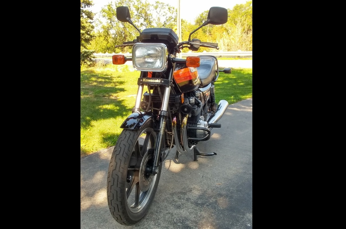 Bike Of The Month: Our November BOTM Is Robert Fyles  1983 KZ750 L3