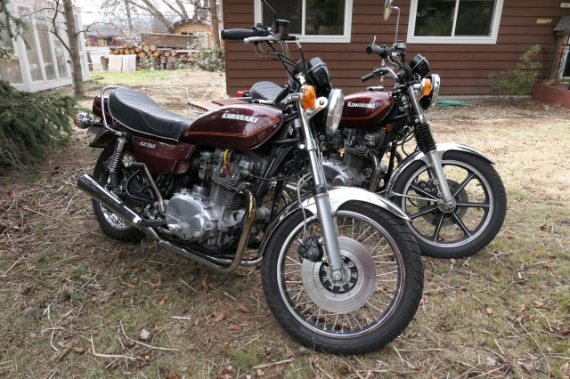 Bike Of The Month: Bill Roger's 1979 KZ750-B4 Twin