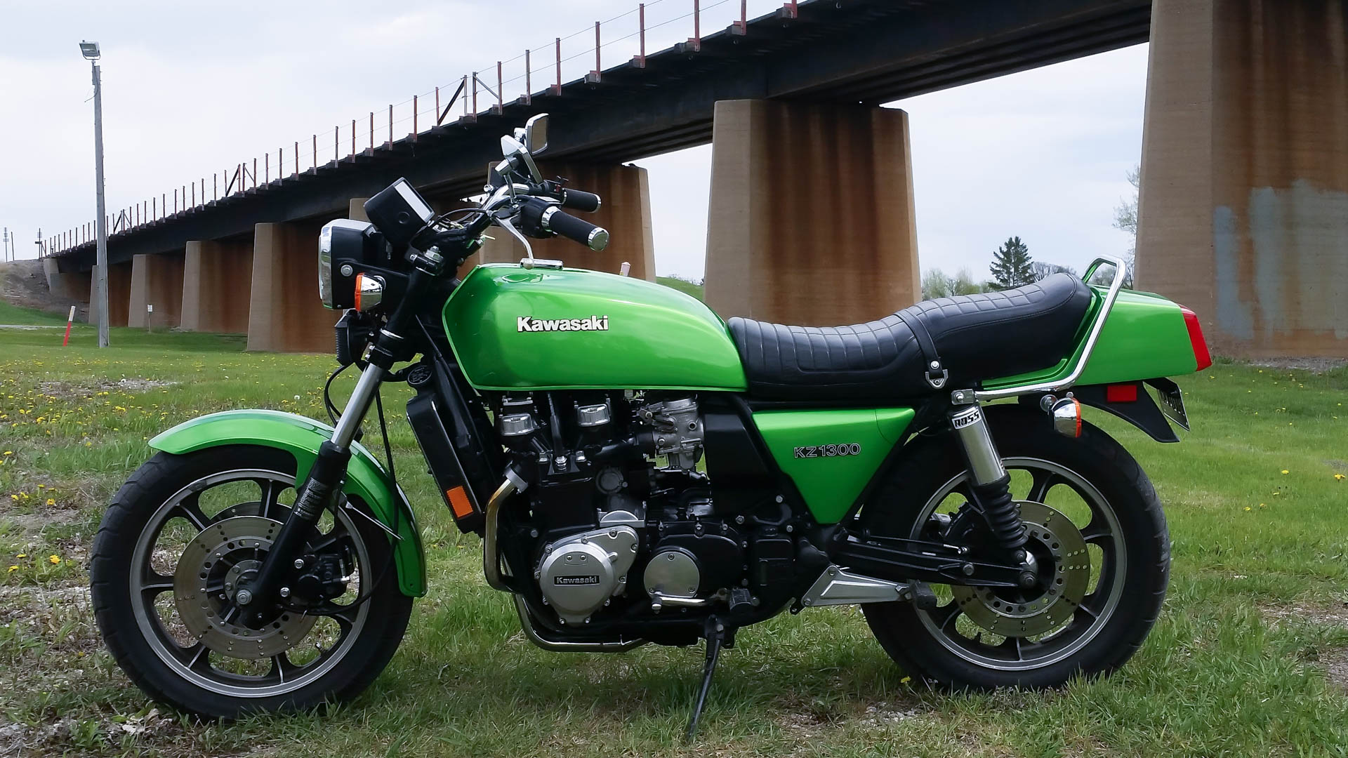 Bike Of The Month:Tyler Curran's 1981  KZ1300