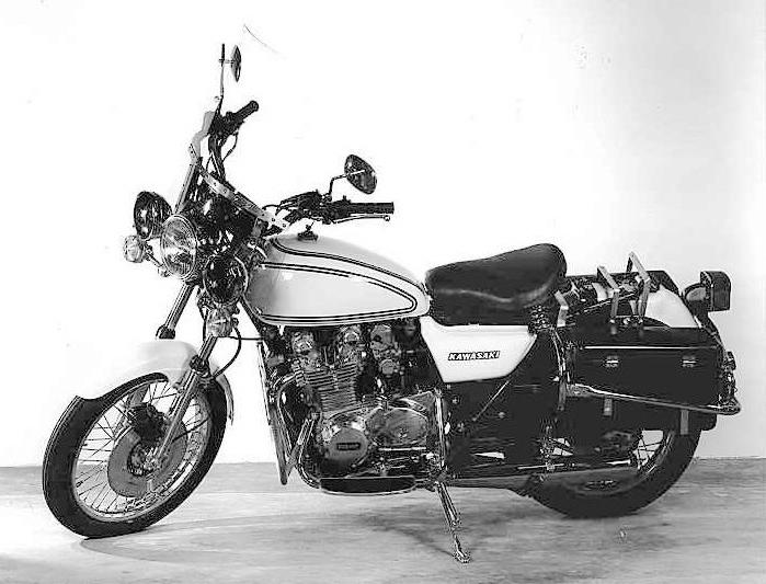 Kawasaki Police Motorcycle Model Info 1977-2005