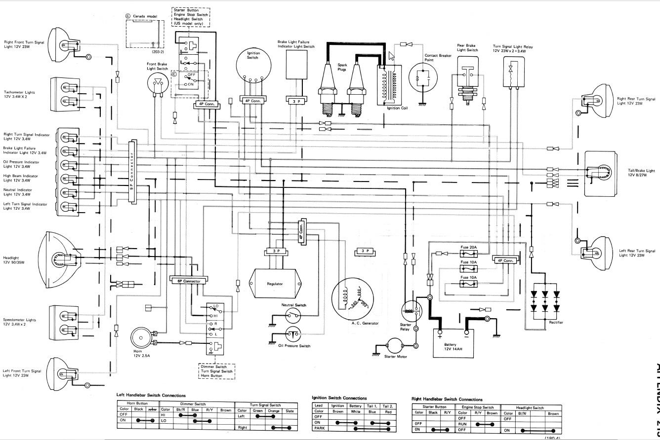 1979 kz750 twin wiring problems please help - kzrider forum