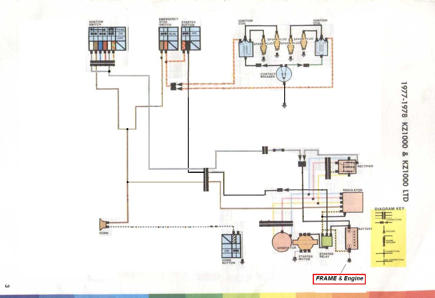 kz1000 wiring diagram basic 1980 kz1000 wiring diagram color dead electrical - kzrider forum - kzrider, kz, z1 & z ... #15
