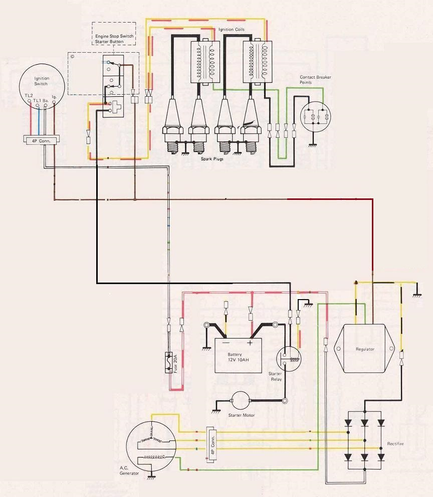 Kz400 Wiring Diagram - Jheemmvv.smestajtara.info • on 4 post solenoid diagram, 4 wheeler wiring diagram, 4 post relay diagram,