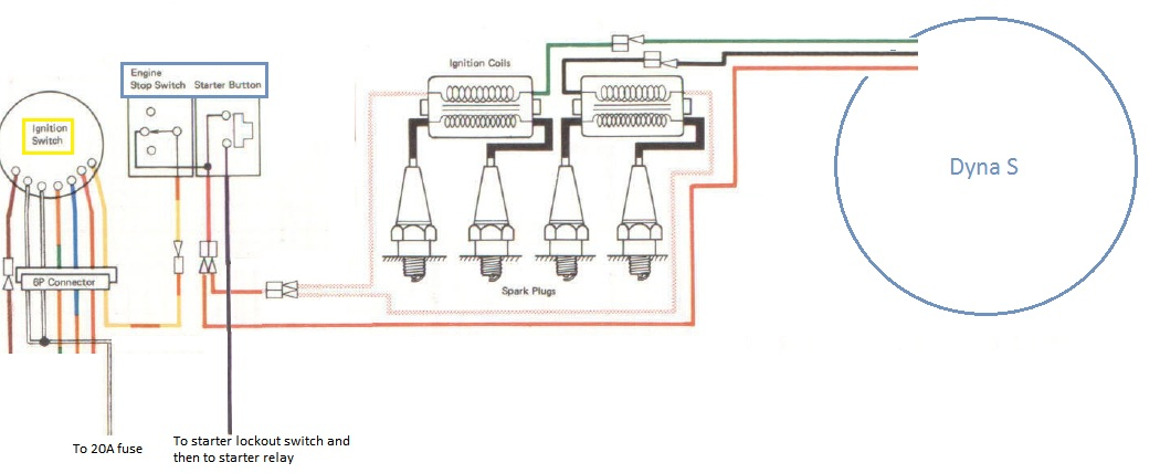 dyna s wiring diagram dyna image wiring diagram dyna ignition wiring diagram 1975 k z dyna wiring diagrams on dyna s wiring diagram