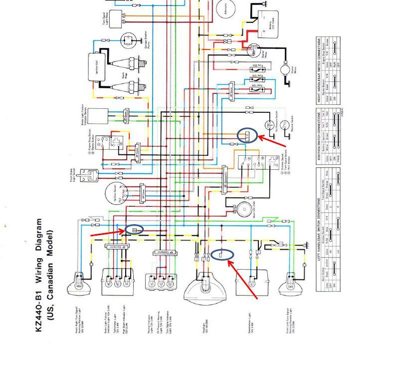1980 kawasaki kz750 twin wiring diagram  1980  get free