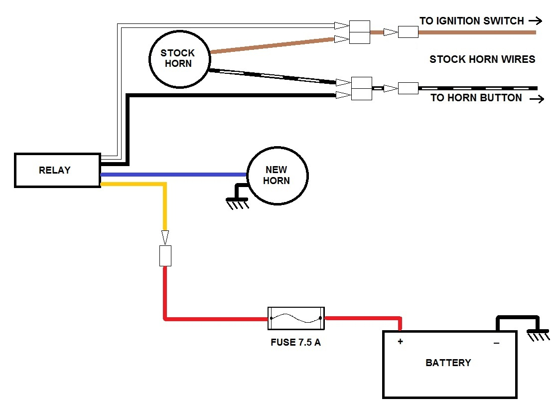 1930 ford model a wiring diagram horn wiring ? - kzrider forum - kzrider, kz, z1 & z ... model a wiring diagram horn