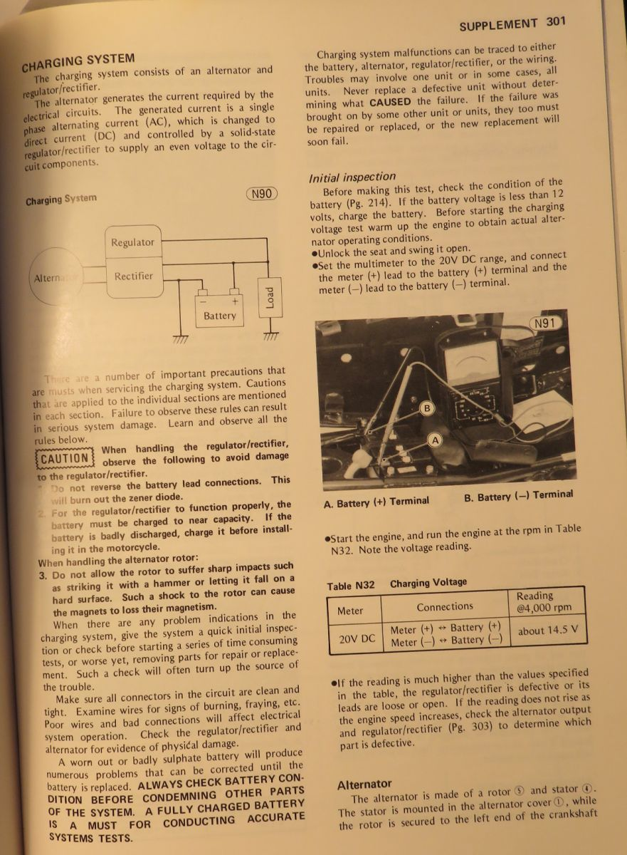 Kz650 Coil Diagram Electrical Wiring Diagrams E1 Trusted Ignition To Distributor Charging On My 1980