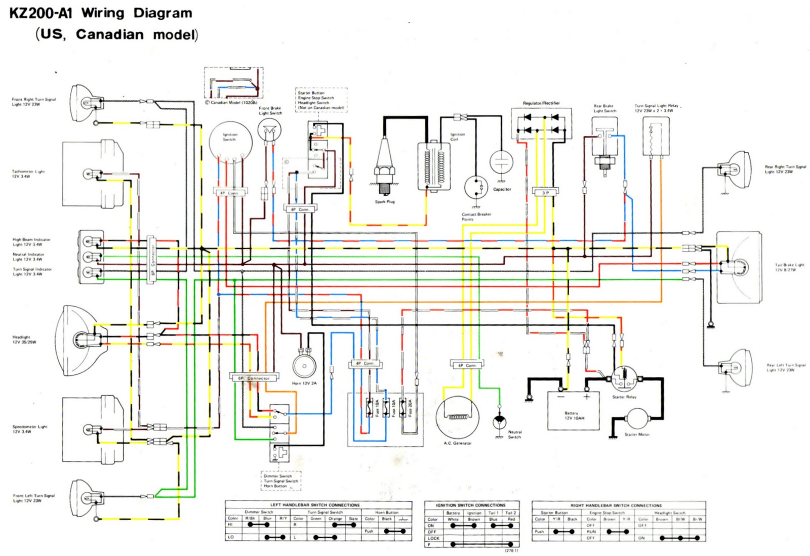 Looking For Wiring Diagram 1978 Kz200 Kzrider Forum Kzrider, Kz Wiring  Color Coding Kz200 Wiring Diagram