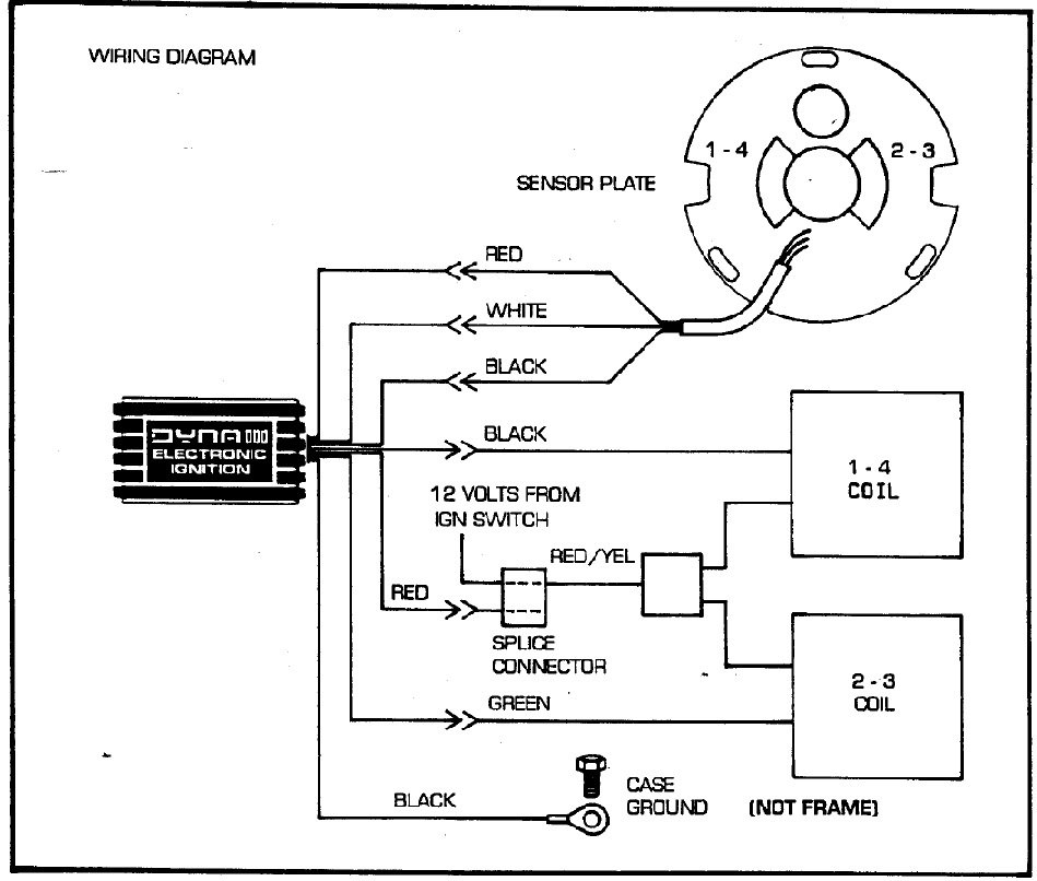 Wiring Diagram Of Ignition System : Kz c no spark dyna iii ignition system kzrider