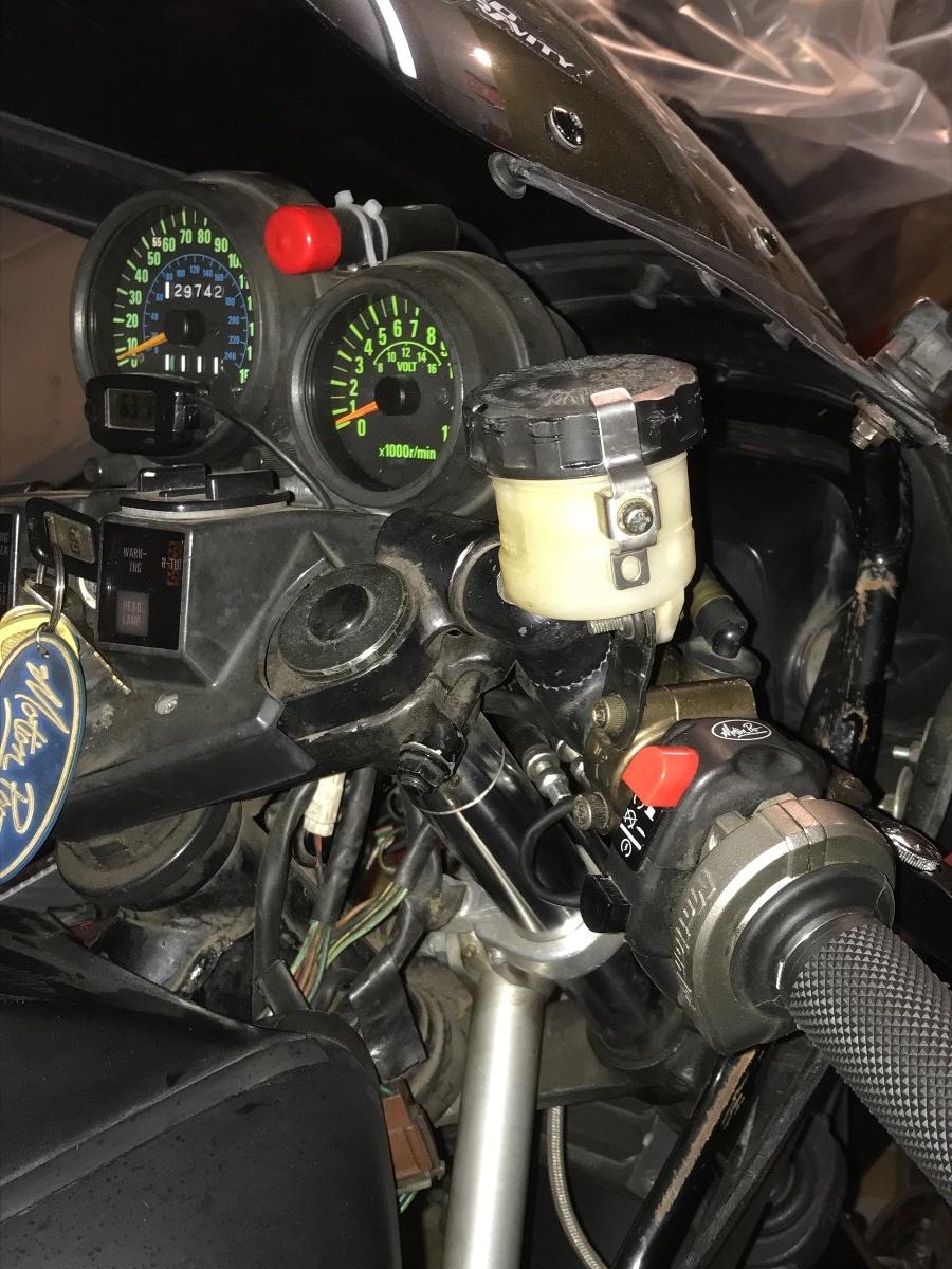 Kz Kawasaki B Front Master Cylinder Resovoir